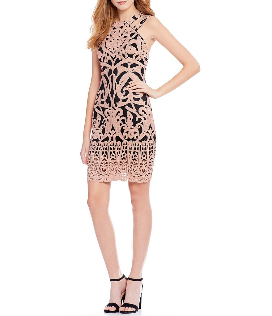 Foxiedox Rosabel Embroidery Dress