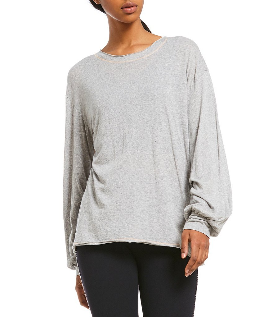 Free People FP Movement Pivot Point Long Sleeve Top