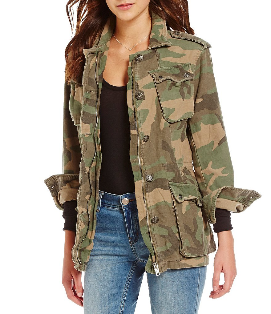 Free People Not Your Brother´s Cargo Jacket