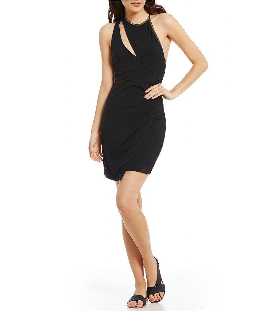 Free People Toast To That Mini Bodycon Dress | Dillards
