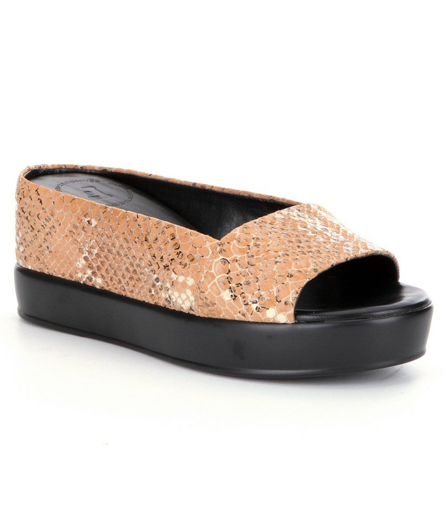 French Connection Pepper Peep-Toe Wedges