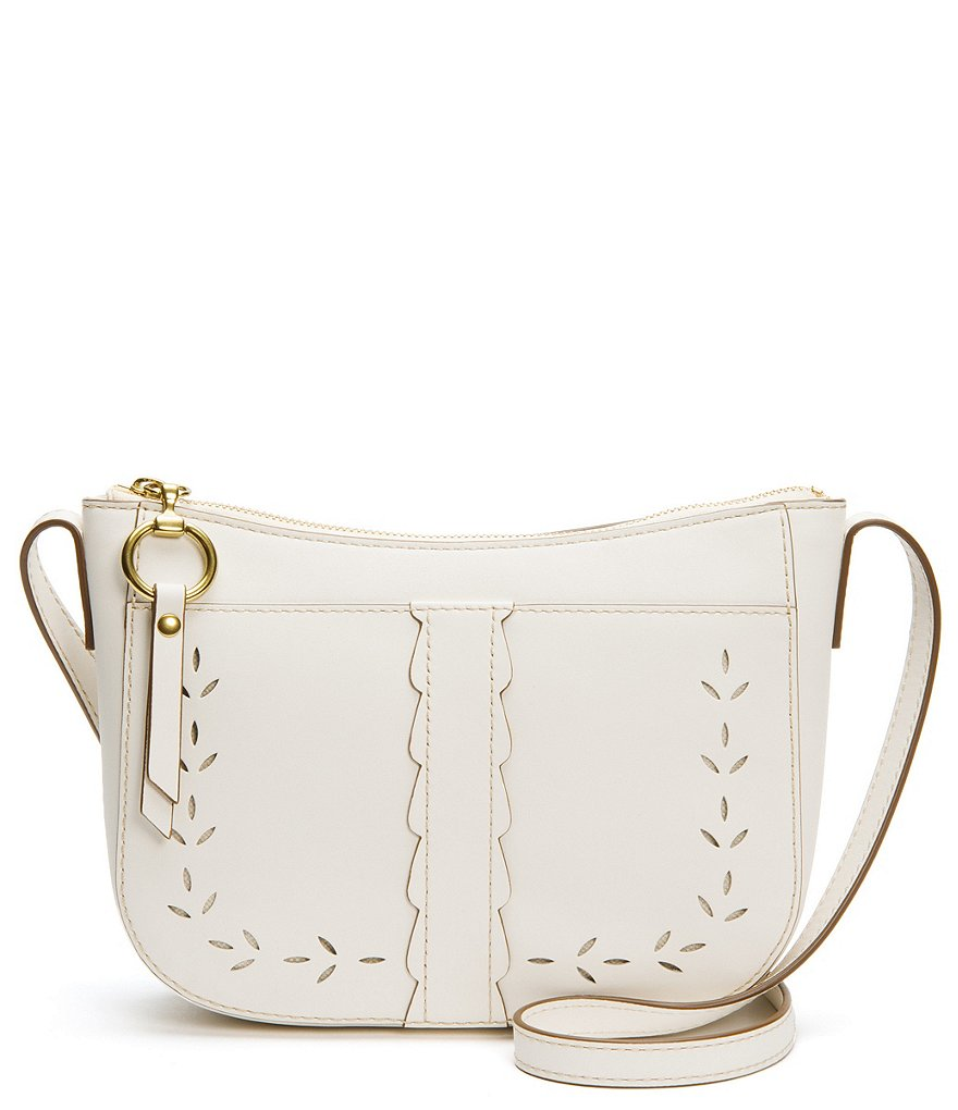 Frye Ilana Perforated Zip Cross-Body Bag