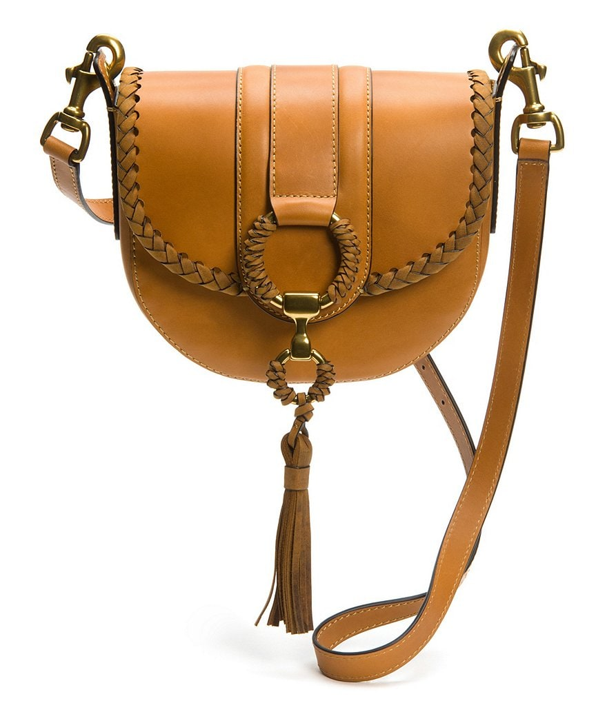 Frye Ilana Wrapped Small Saddle Bag