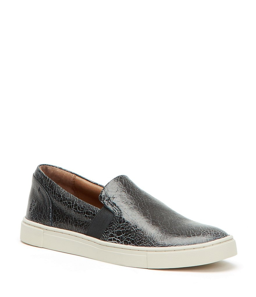 Frye Ivy Slip On Leather Sneakers