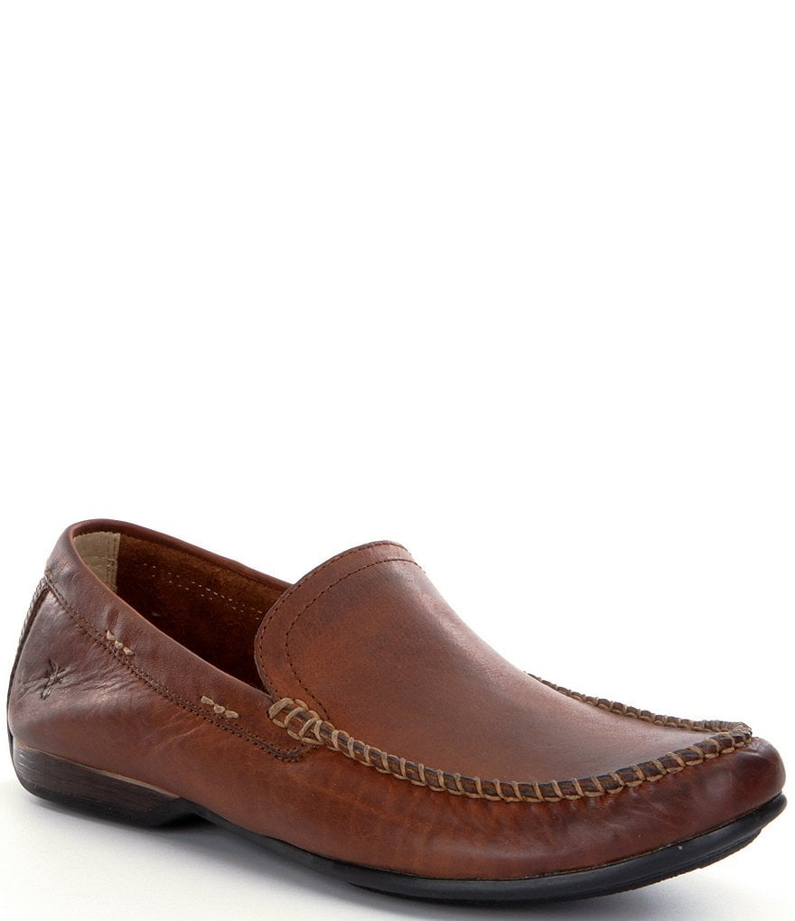 Frye Men's Lewis Leather Venetian Loafers