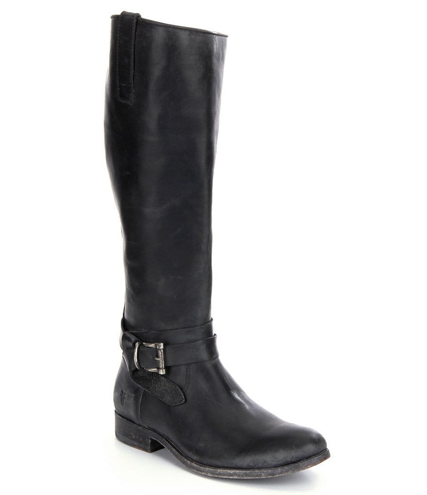 Frye Melissa Knotted Tall Riding Boots