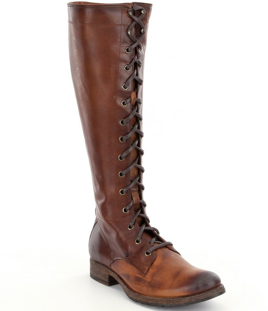 Frye Melissa Tall Lace Boots