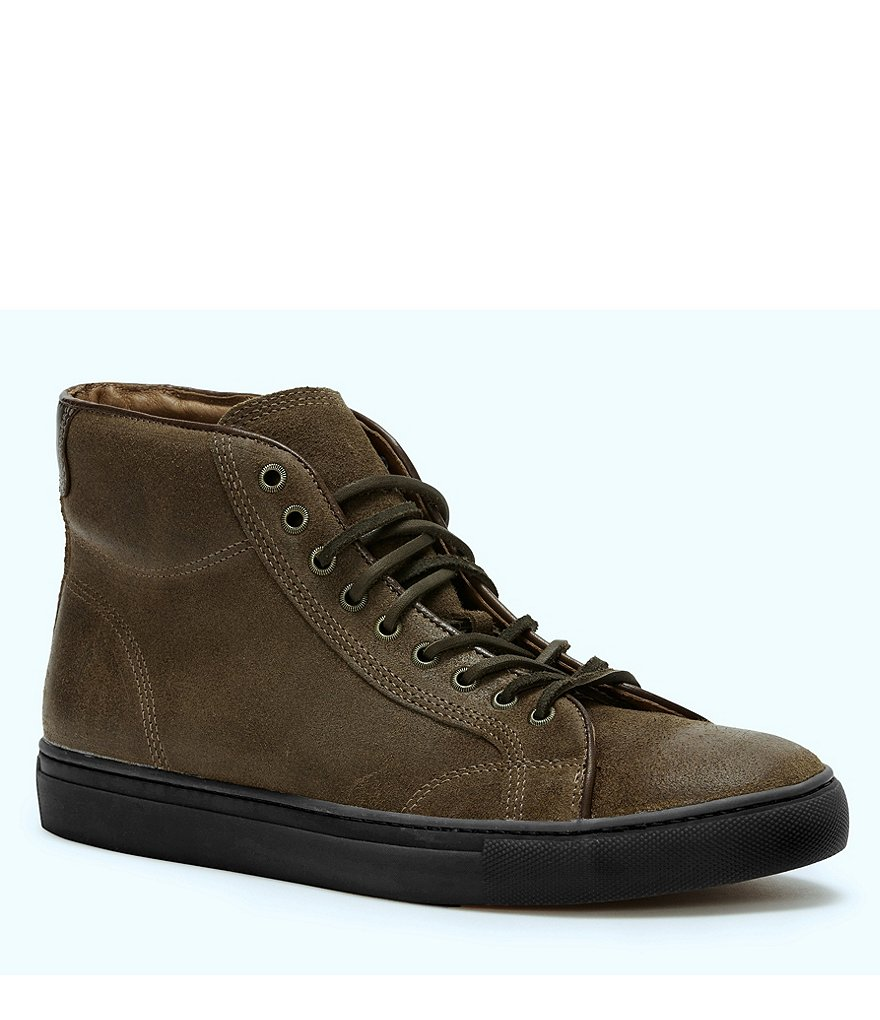Frye Men's Walker Suede Mid Lace Sneakers