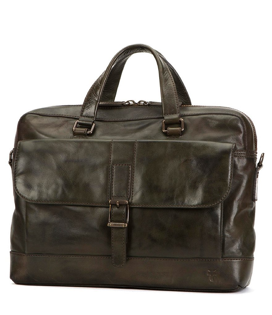 Frye Oliver 2-Handle Briefcase Bag