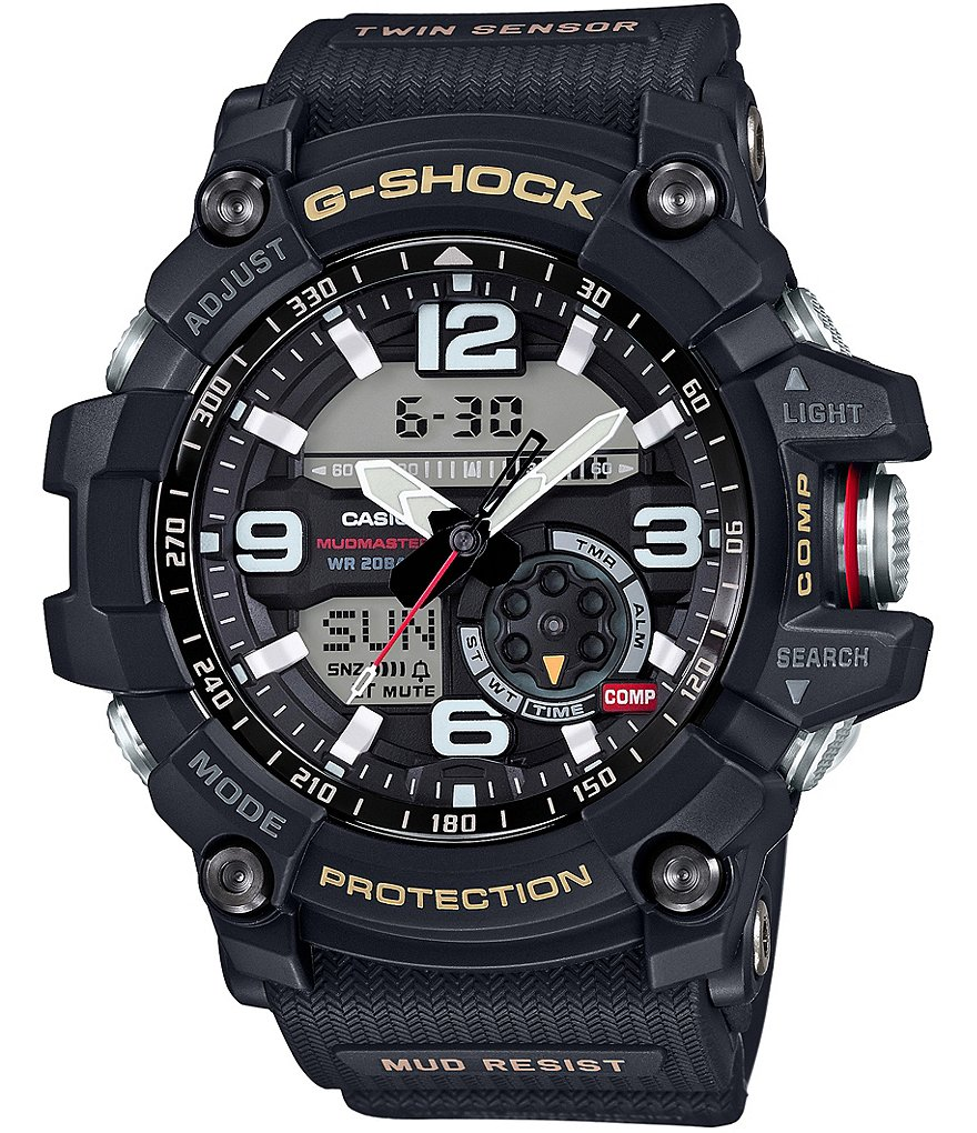 G-Shock Black Ana-Digi Watch