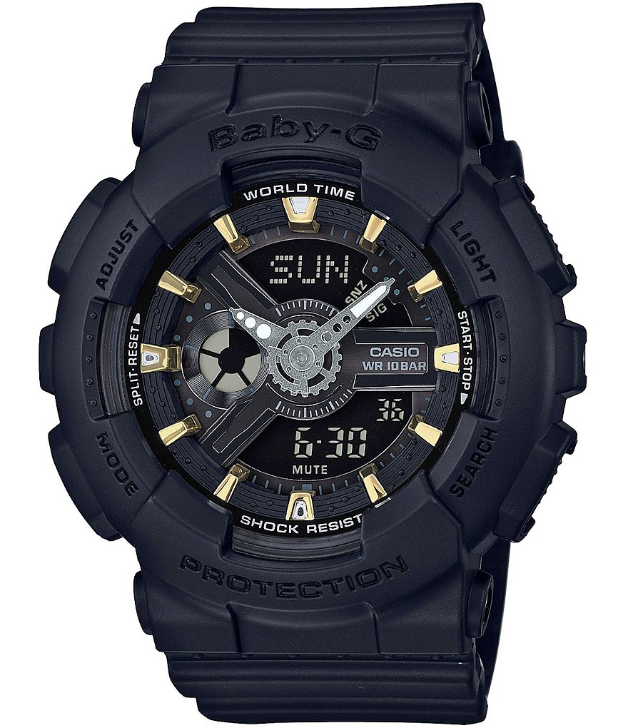 G-Shock Baby-G Black Resin Ana-Digi Watch