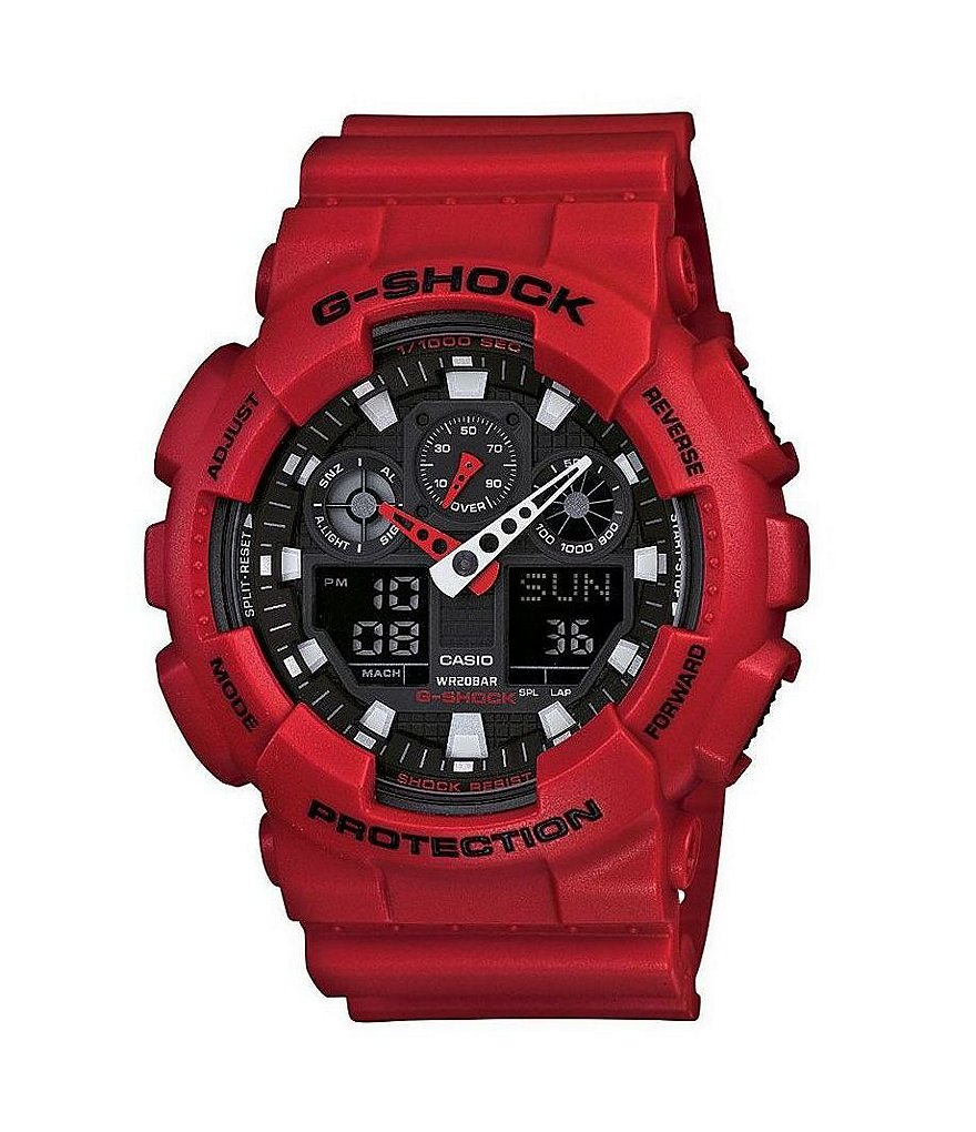 G-Shock XL Analog Digital Resin Watch