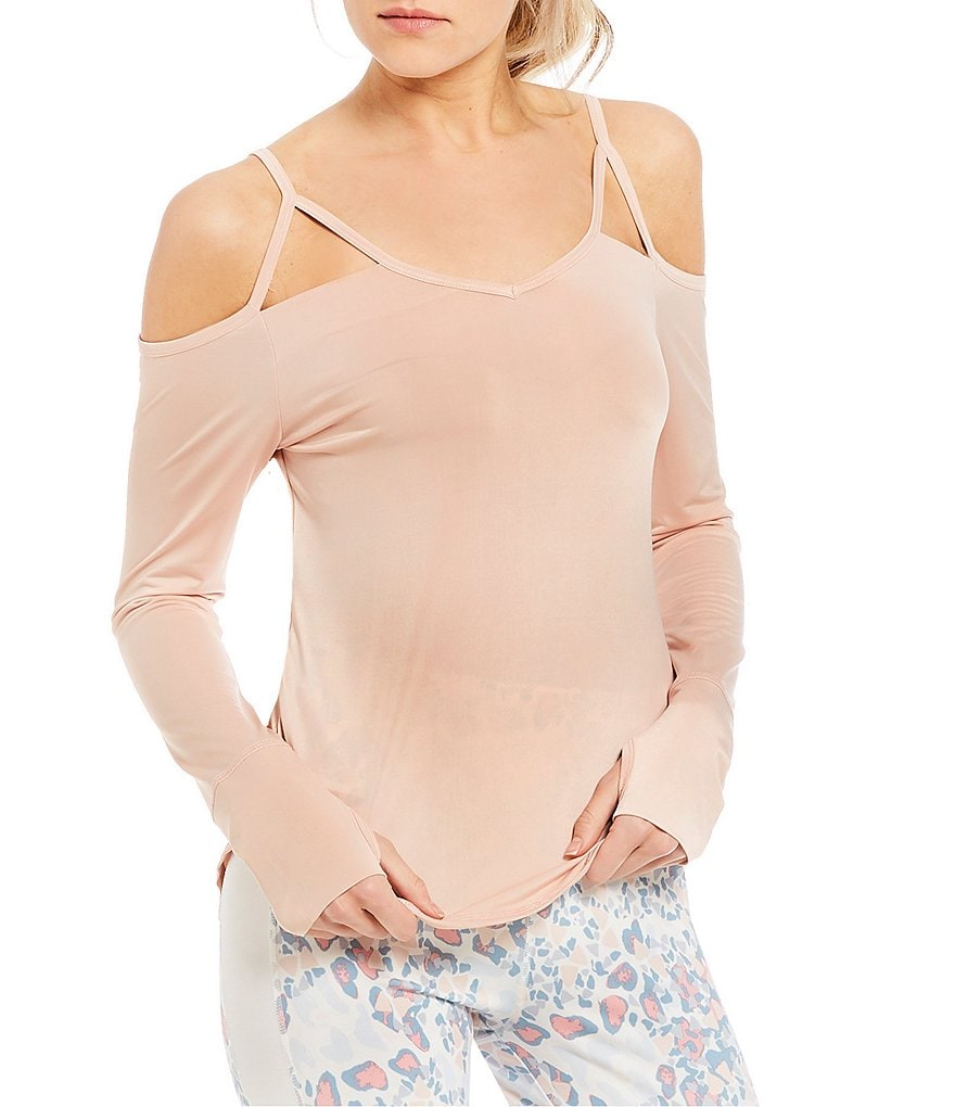 GB Active Cold Shoulder Top