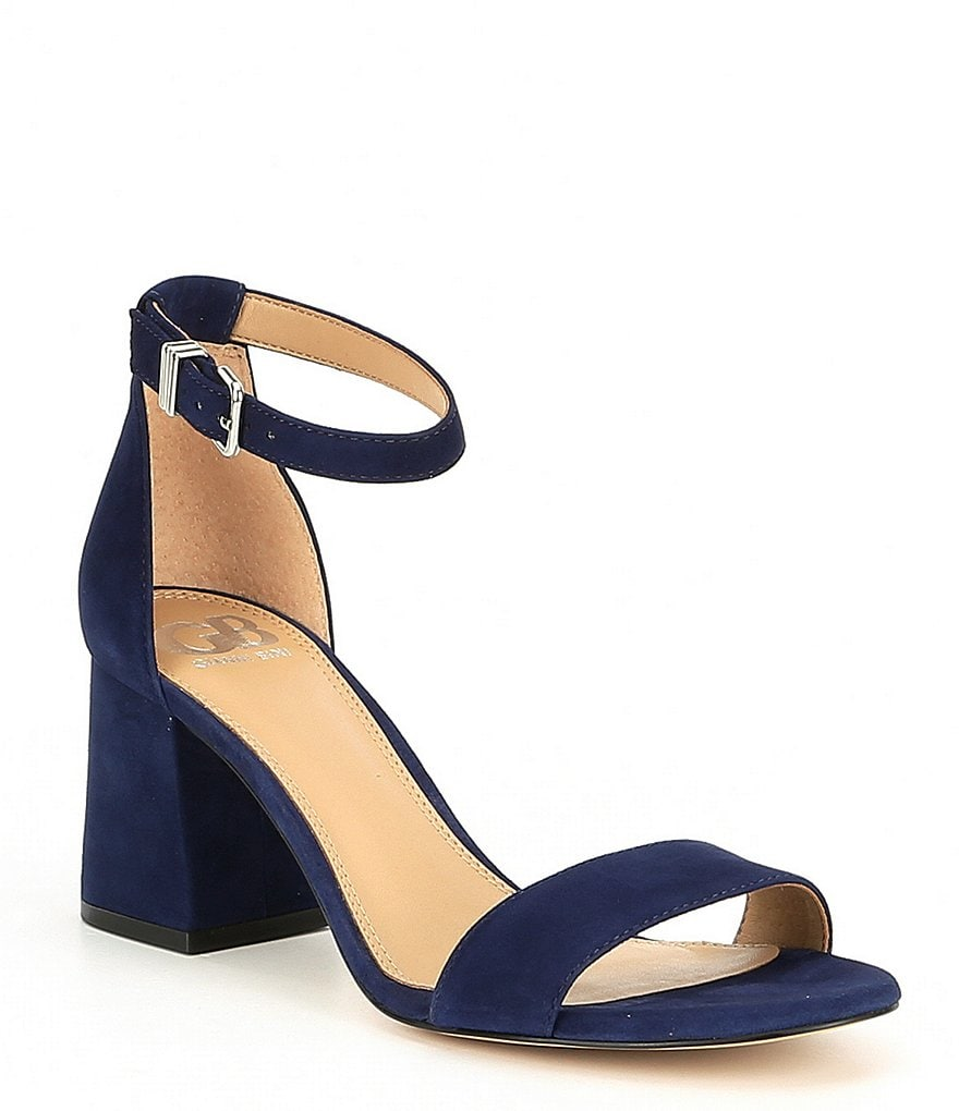 GB Block-Party Suede Two-Piece Sandals