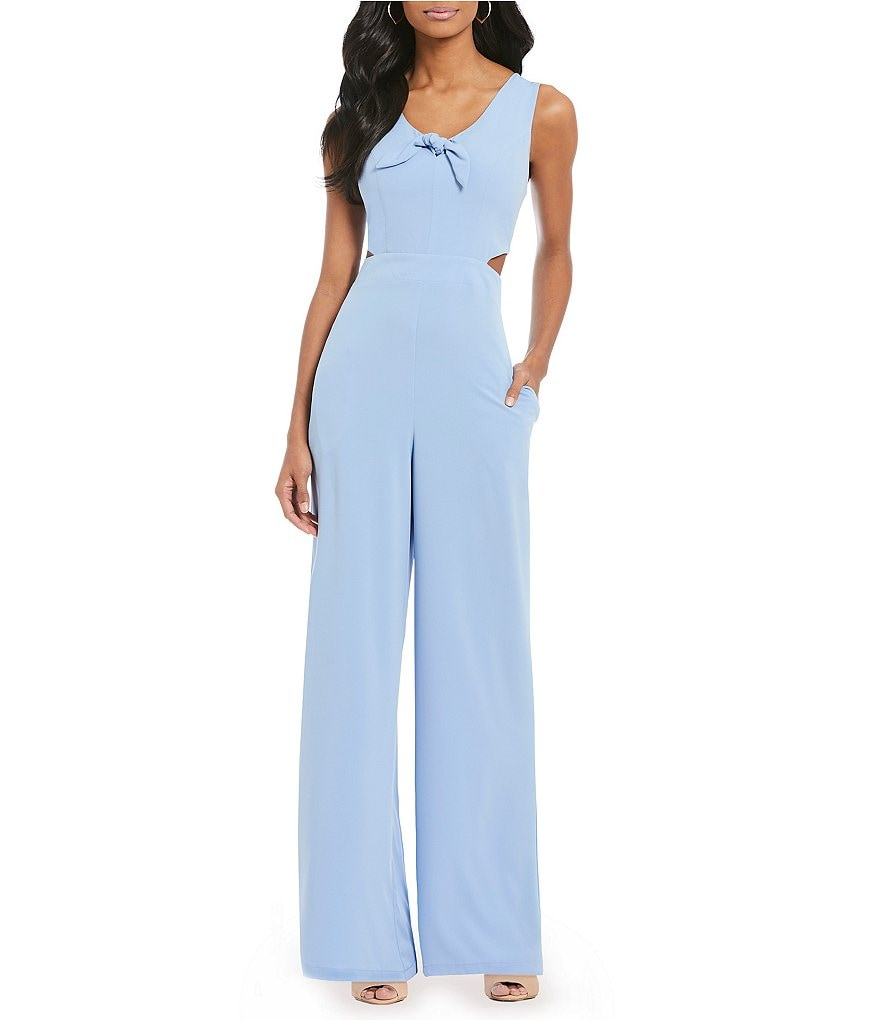 GB Fan Fav Tie Front Jumpsuit