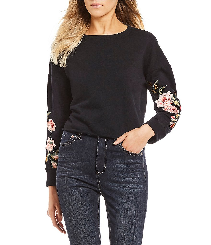GB Floral Embroidered Sweatshirt