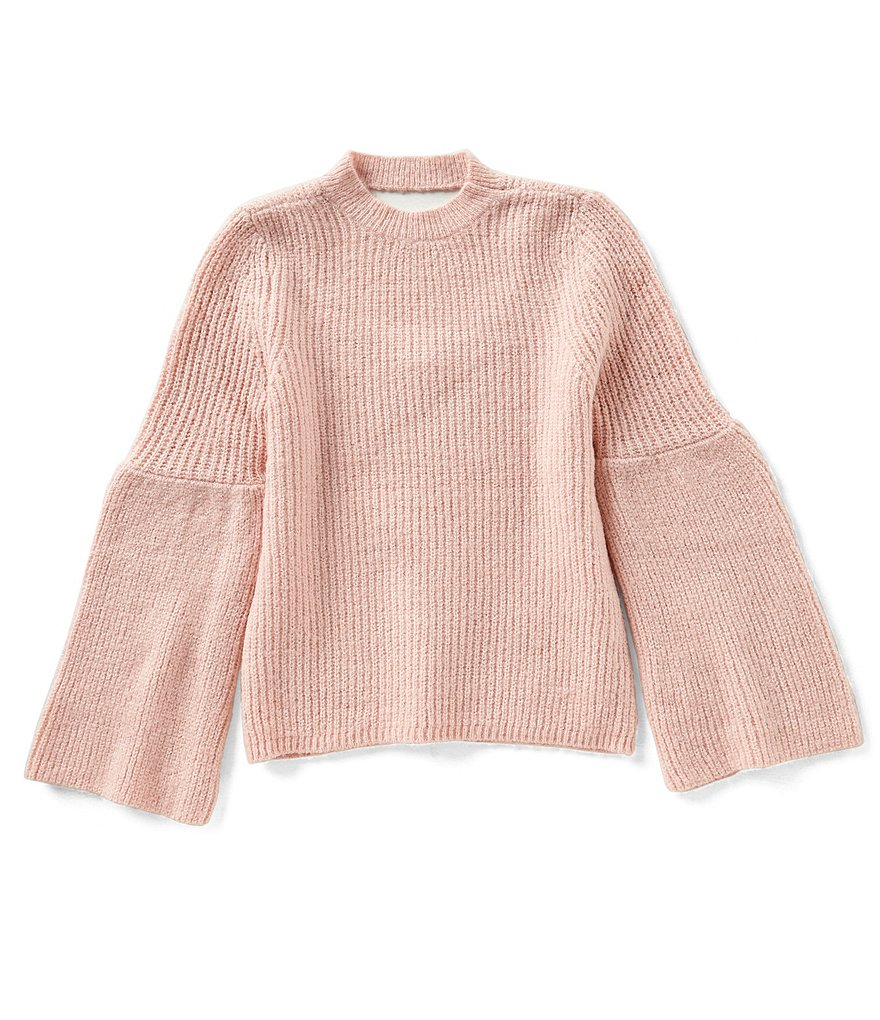 GB Girls Big Girls 7-16 Bell-Sleeve Knit Sweater