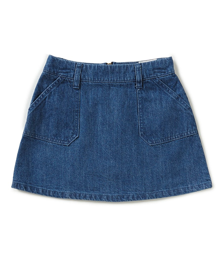 GB Girls Big Girls 7-16 Pocket Denim Skirt