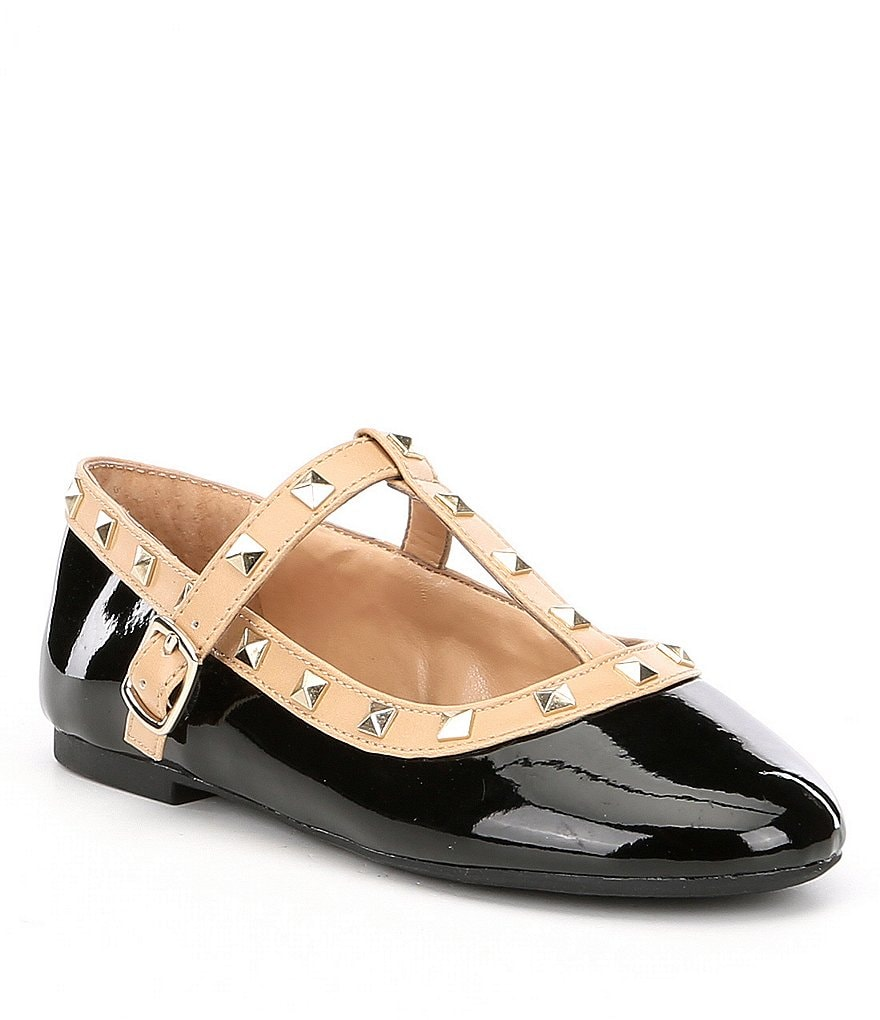 GB Girls Brilee-Girl Studded Dress Flats