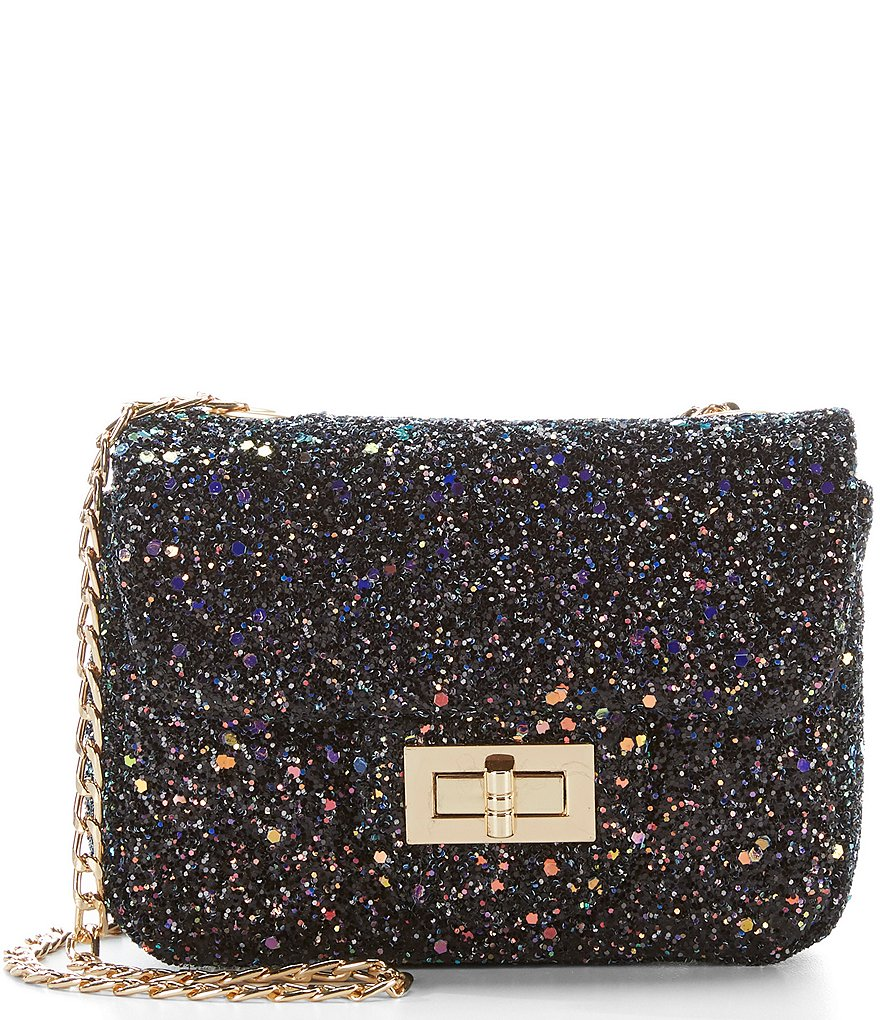 Gb S Glitter Crossbody Handbag