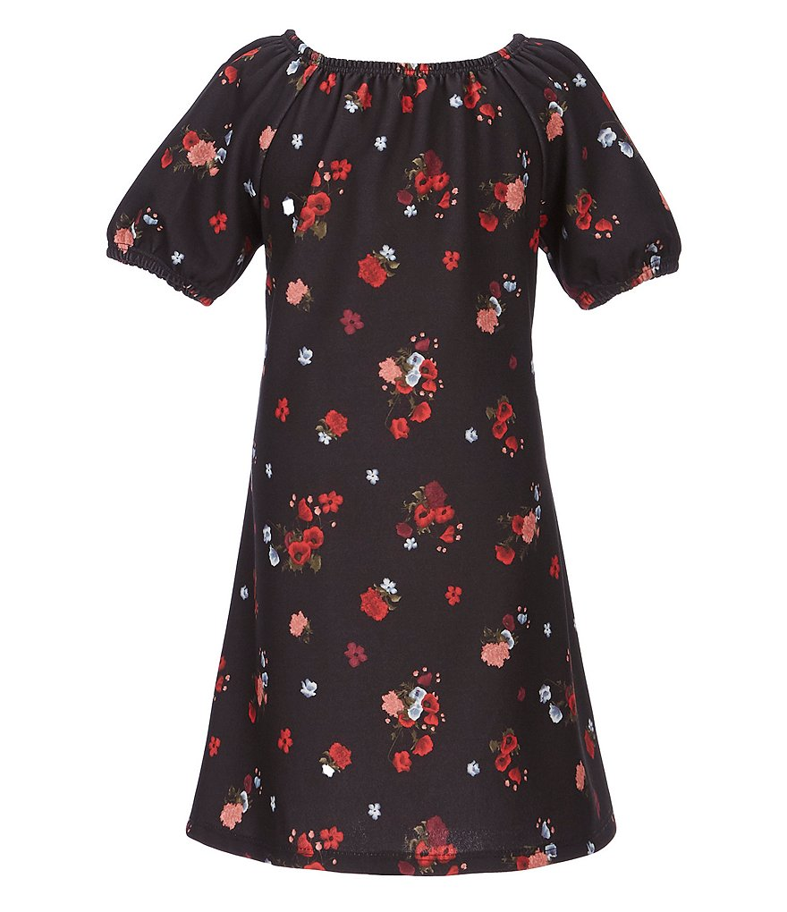 GB Girls Little Girls 2T-6X Mini Me Collection Floral-Printed Shift Dress