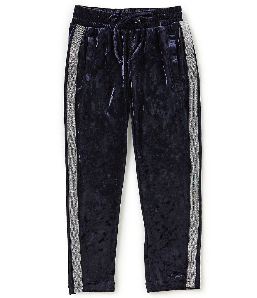 GB Girls Little Girls 4-6X Crushed Velvet Jogger Pants