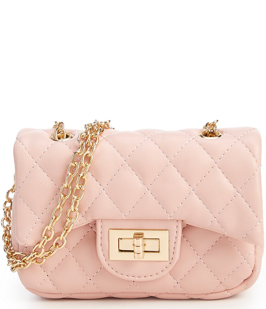 GB Girls Quilted Crossbody Handbag