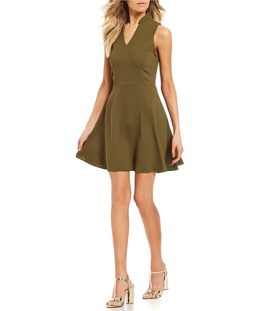 GB Olive Swing Dress