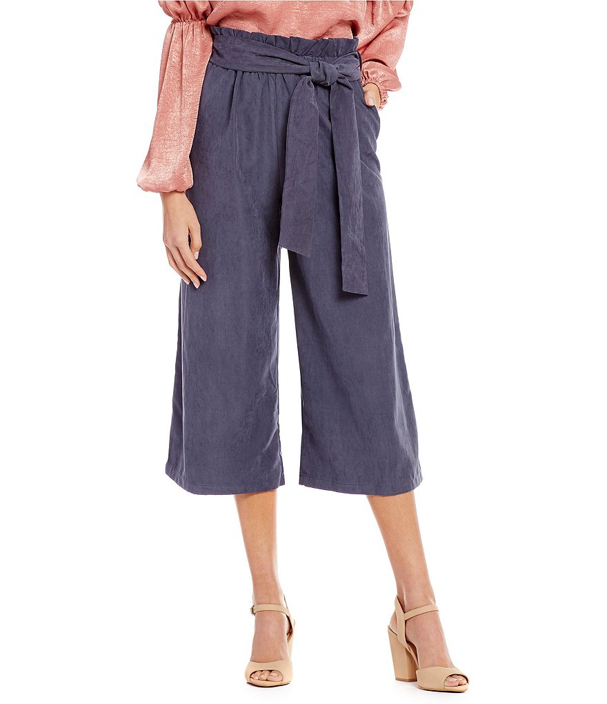 GB Paperbag Waist Culotte Style Pants