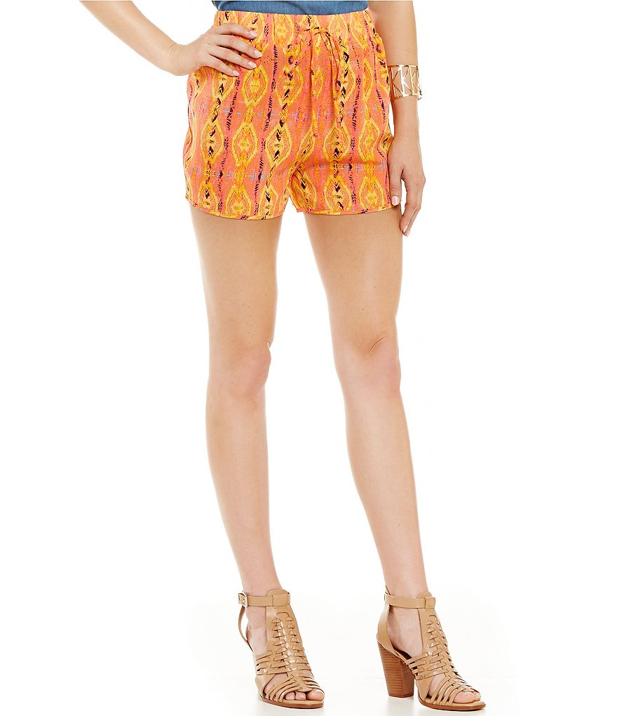 GB Soft Printed Drawstring Waist Short