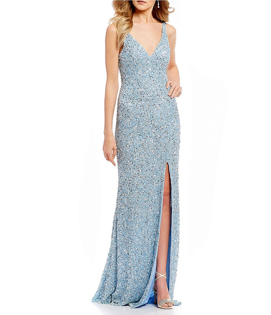 GB Social Beaded Gown