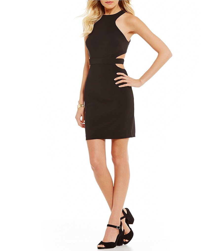 GB Social Cut Out Little Black Dress