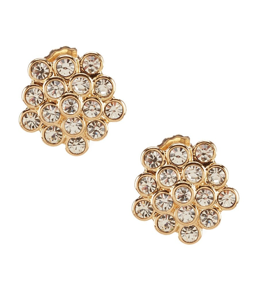 Gemma Layne Flower Cluster Stud Earrings