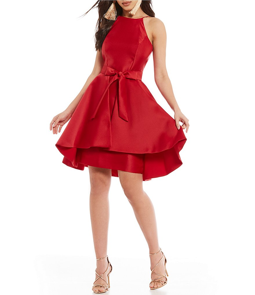 Gianni Bini Hansen Taffeta Dress