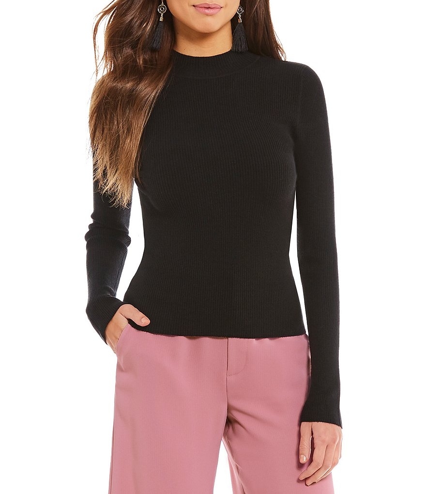 Gianni Bini Holly Mockneck Tee