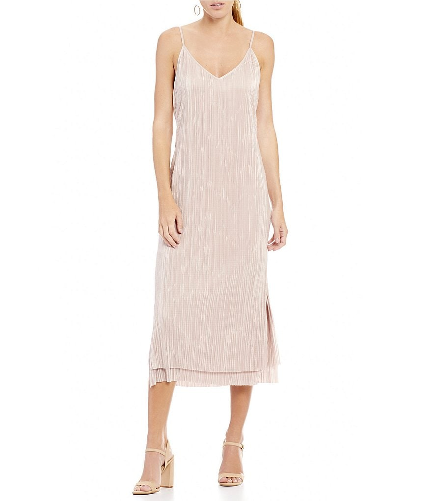 Gianni Bini Kerri Pleated Midi Dress