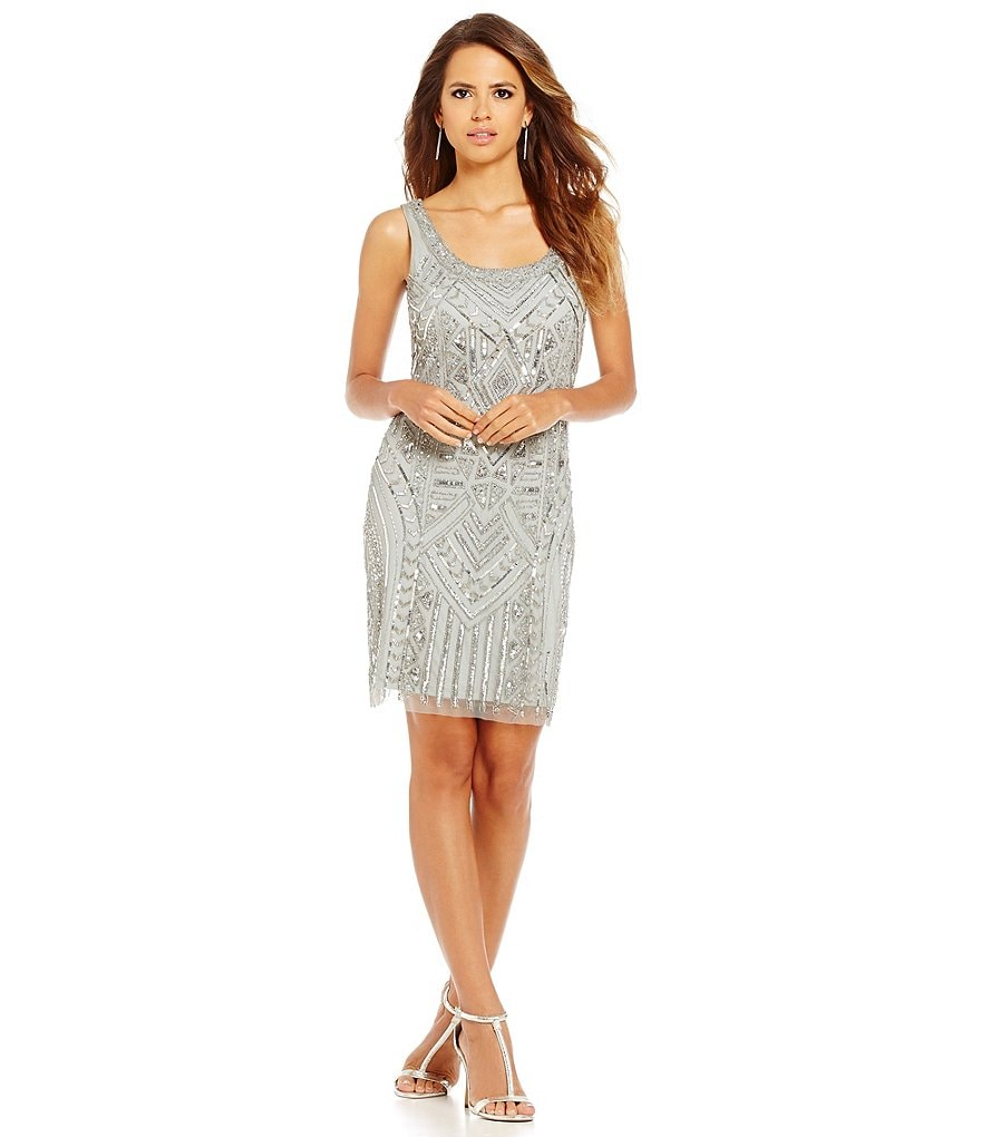 Gianni Bini Social Laurel Sequin Sleeveless Dress