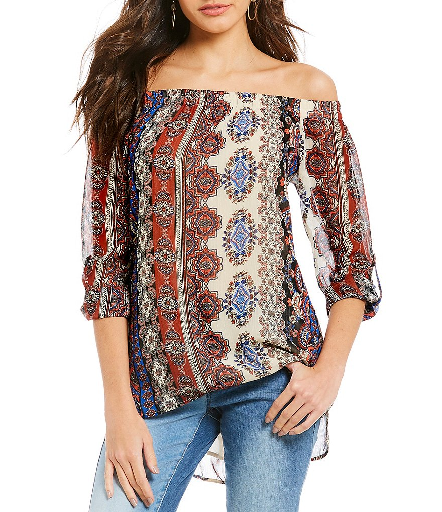 Gibson & Latimer Off The Shoulder Blouse