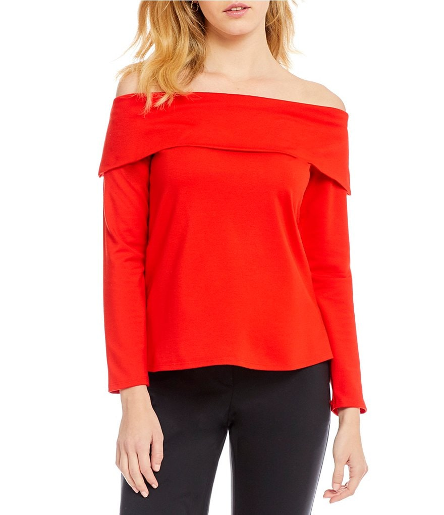 Gibson & Latimer Off-The-Shoulder Top