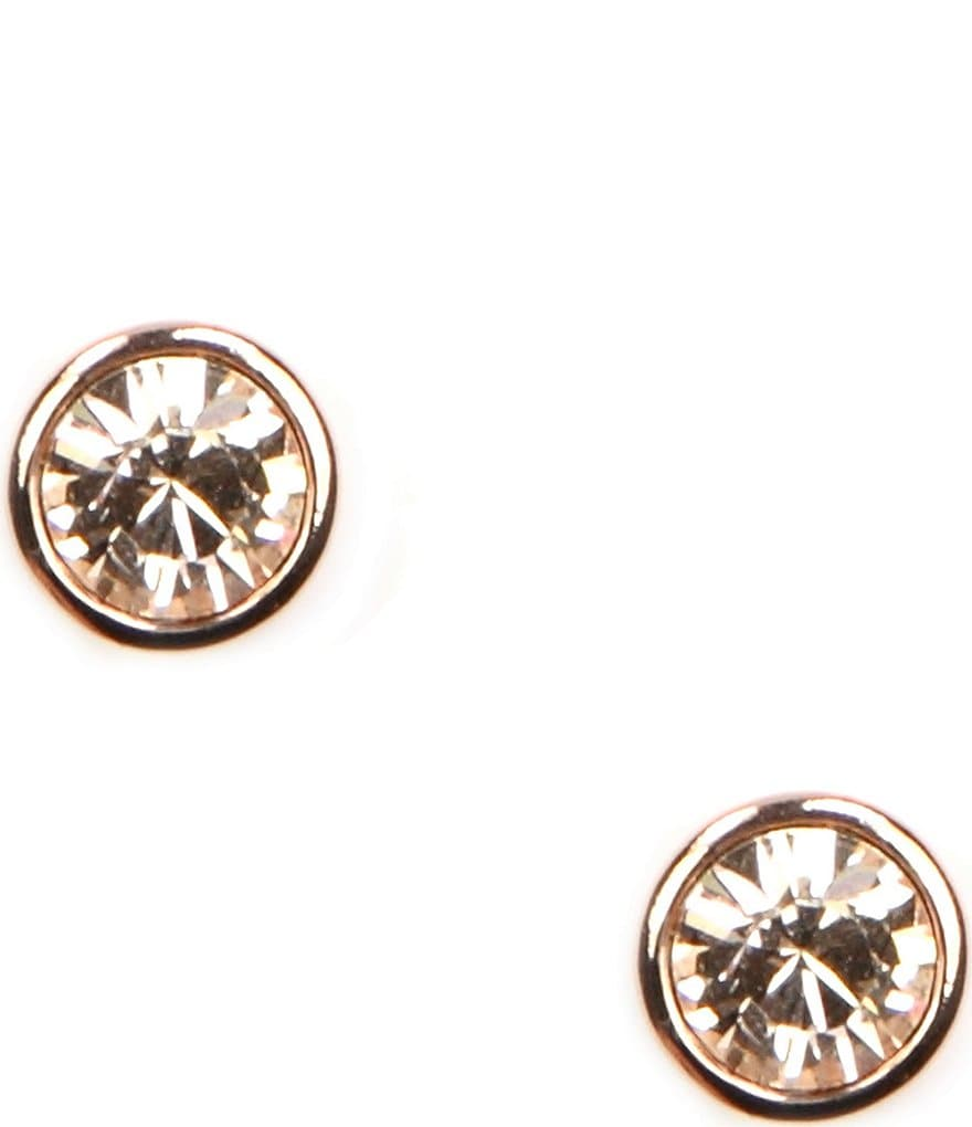 Givenchy Rose Gold Stud Earrings | Dillards