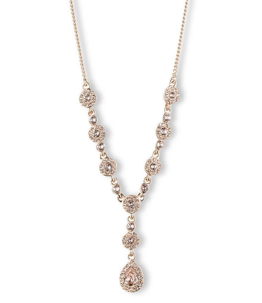 Givenchy Rose Gold Y-Necklace