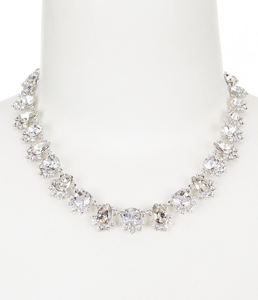 Givenchy Pear Stone Collar Necklace