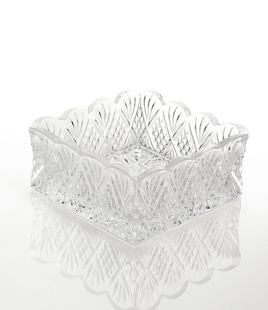 Godinger Dublin Starburst Crystal Napkin Holder