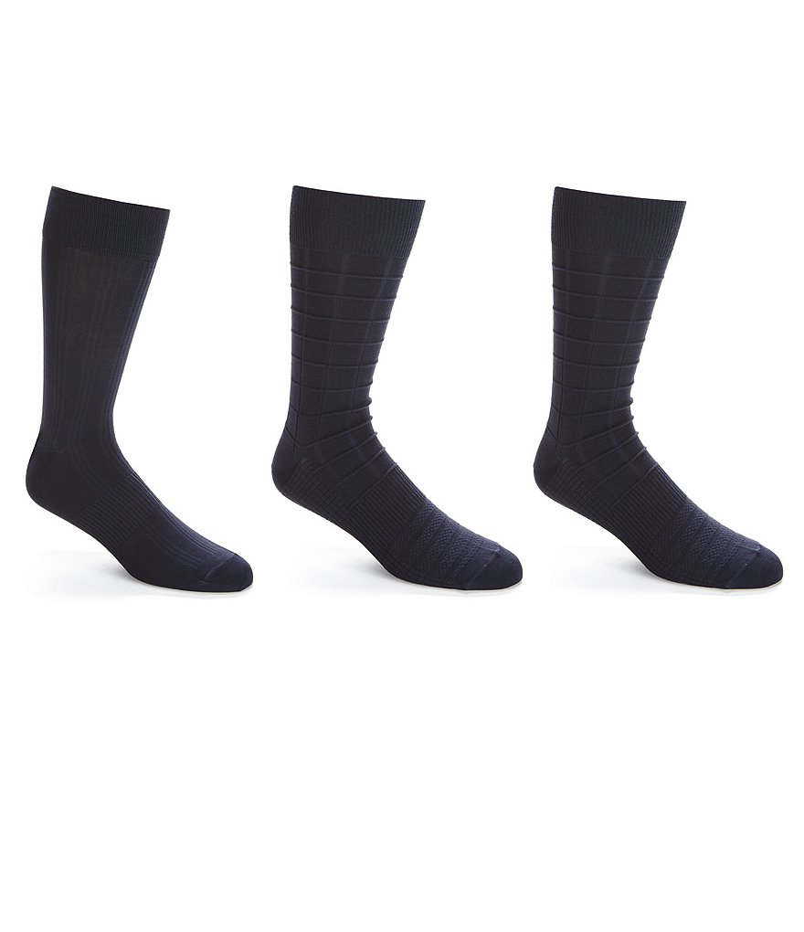 Gold Label Roundtree & Yorke Crew Socks 3-Pack
