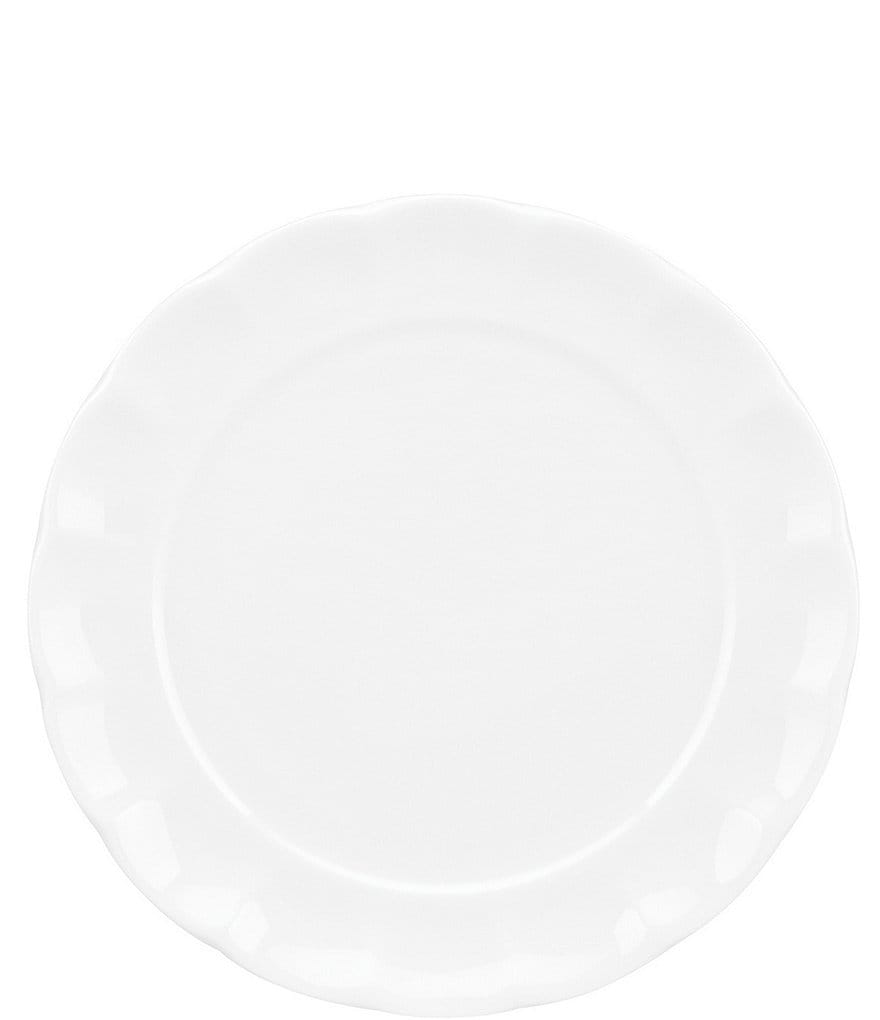 Gorham Manor Scalloped Bone China Salad Plate