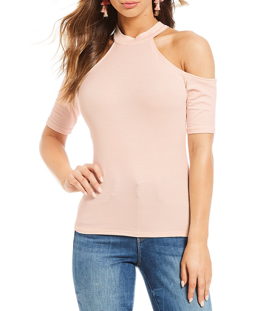 Guess Ebony Cold Shoulder Top