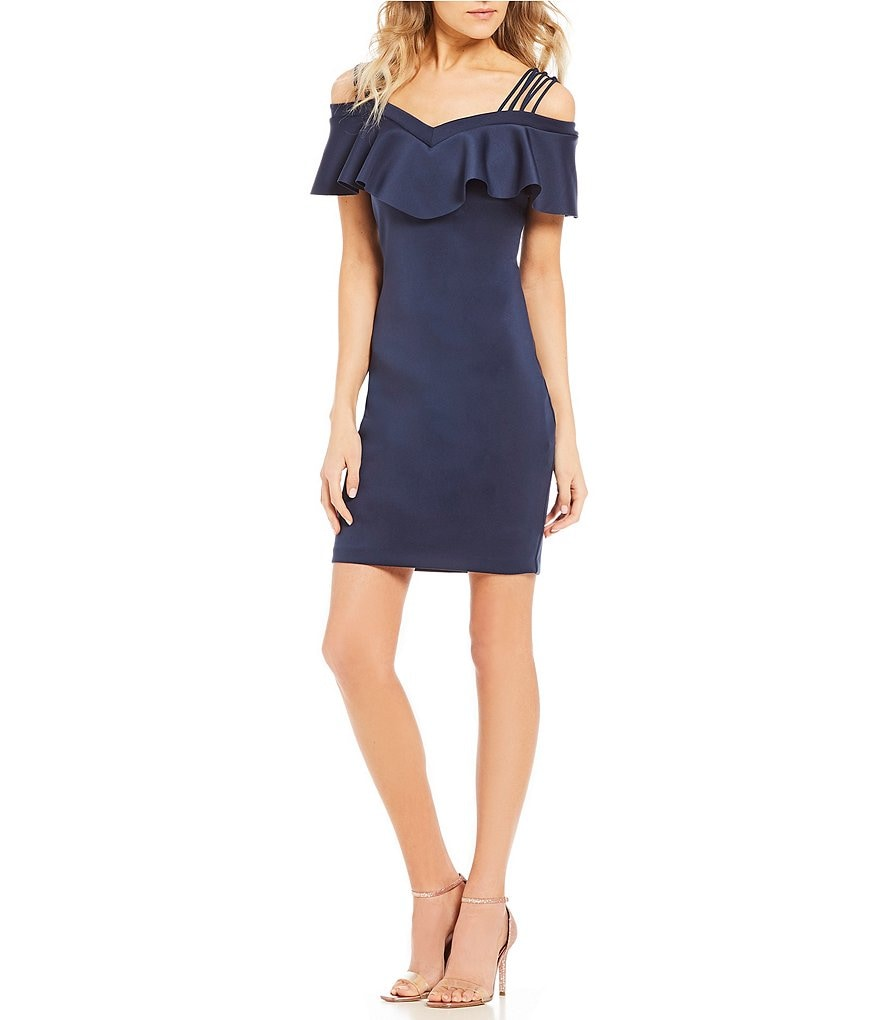 Guess Edrea Off-The-Shoulder Sheath Dress