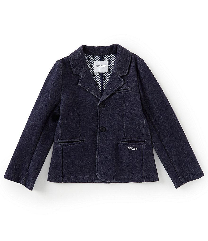 Guess Little Boys 2T-7 Denim Blazer