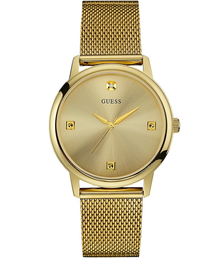 Guess Slim Mesh Bracelet Watch