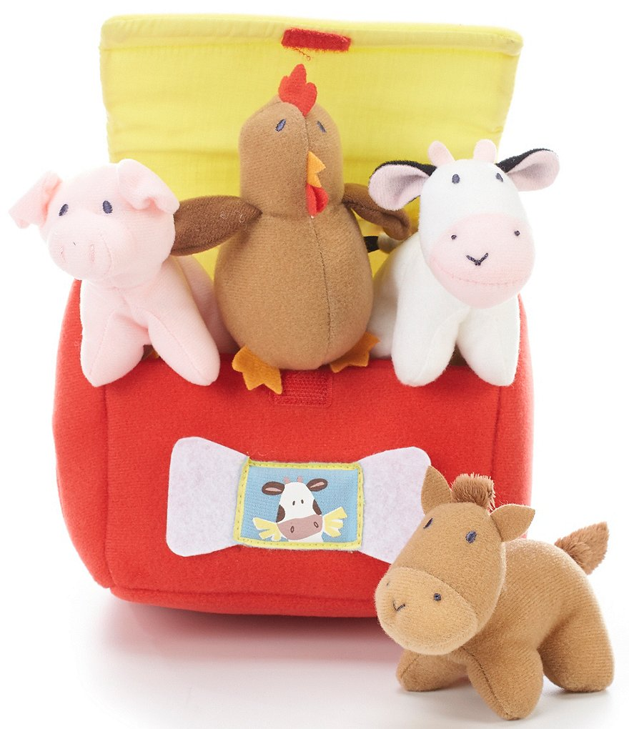 Gund My Little Farm Five-Piece Playset